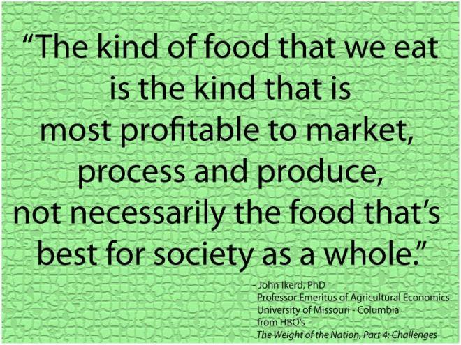 John Ikerd Quote