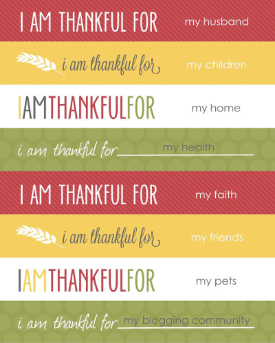Some broad thoughts on the multitude of things I am thankful for.