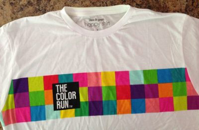 The colorful shirt we got